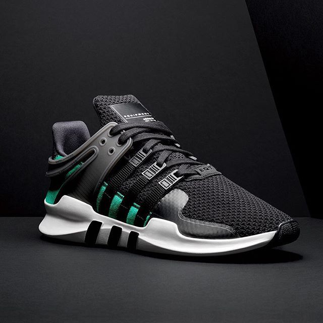 new product 0cf69 b5d51 The EQT ADV 91-16 celebrates 25 years of adidas Equipment – in the  familiar green and black OG colours, paramount functionality is still at  the heart of ...
