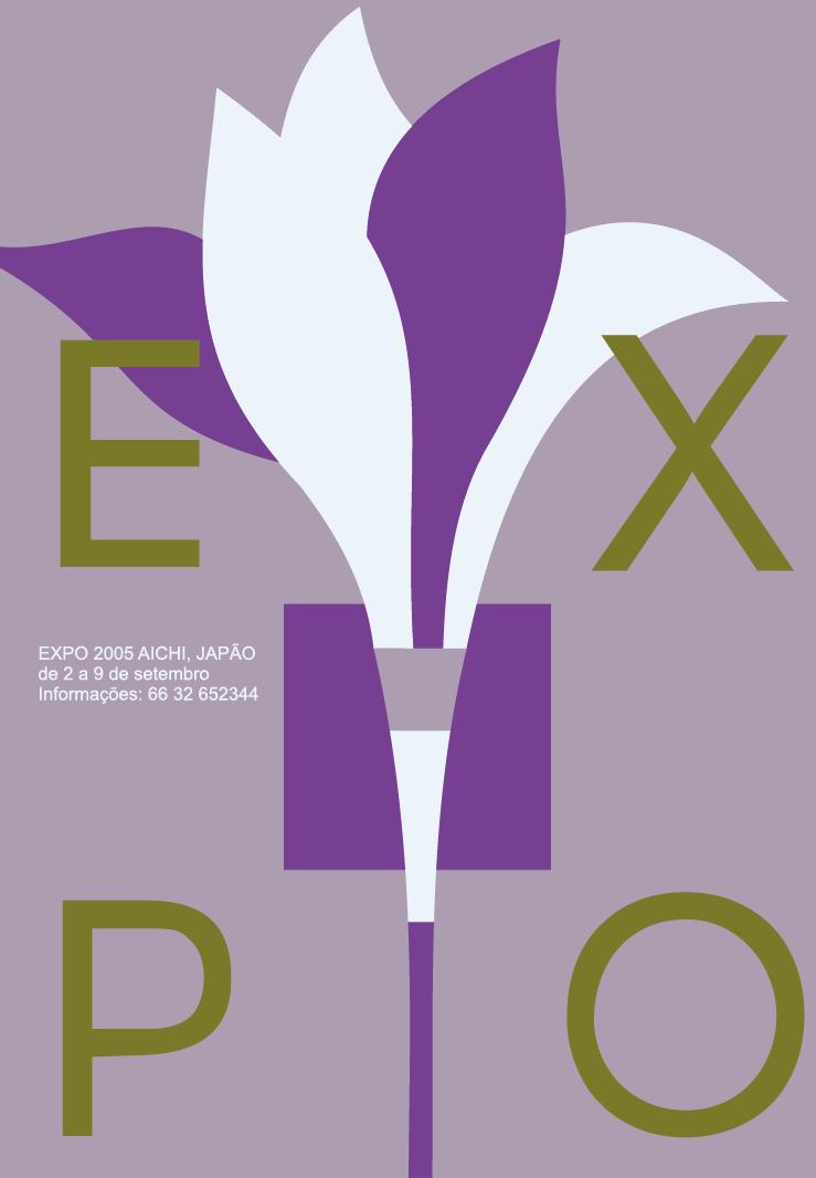 Exercício Cores - Cores Complementares - expressa feminilidade, modernidade e sobriedade.