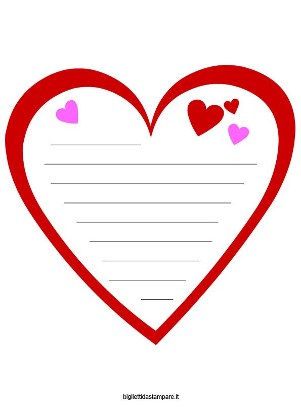 Biglietti San Valentino Gratis Lavori Da Stampare San Valentino