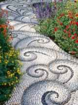 Affordable Garden Path and Walkways Design For Your Amazing Garden 41 - HomeIdeas.co #steingartenideen