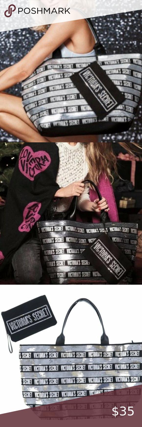 Victoria S Secret 2018 Black Friday Tote Set Nwt In 2020 Victoria Secret Victoria Secret Tote Bags Victoria Secret Tote