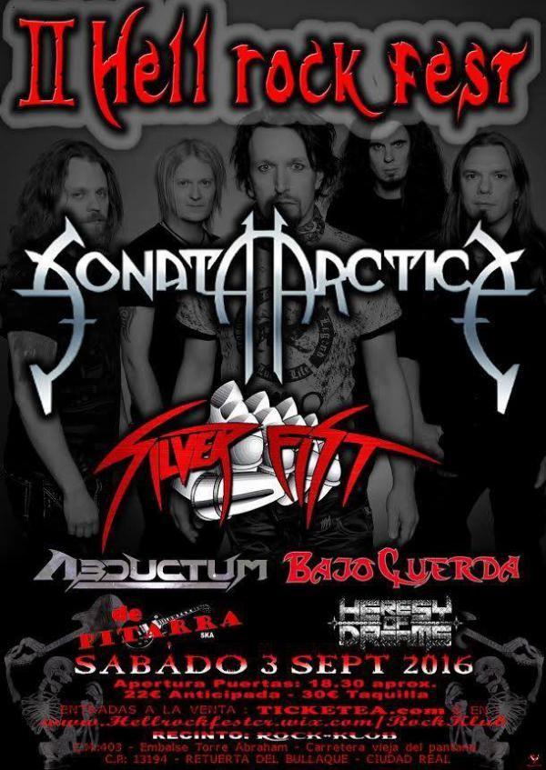 El sábado 3 de septiembre se celebra el II Hell Rock Fest.