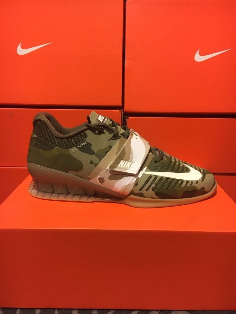 6a55c4d2467a RARE CAMO Nike Romaleos 3 Gym Weight Lifting 852933-300 MEN 11.5  fashion   clothing  shoes  accessories  mensshoes  athleticshoes (ebay link)