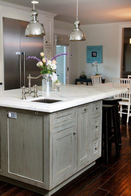 Best Dream Kitchen Distressed Kitchen Cabinets Home Kitchens 640 x 480