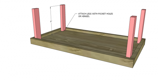 ... Watchthetrailerfo Legs For Folding Table To Build Images Table  Decoration Ideas How To Build Folding Table Legs ...
