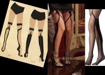 10a0dd37aba The Great Gatsby s costume designer Catherine Martin worked with Fogal of  Switzerland to create sketches and stockings for the movie.  )