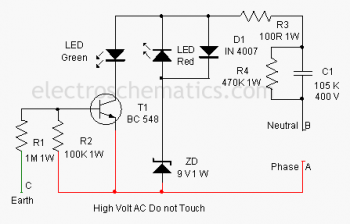 12v Dc Power Supply Without Transformer Circuit Wiring Diagrams Electronic Circuit Projects Circuit Earth