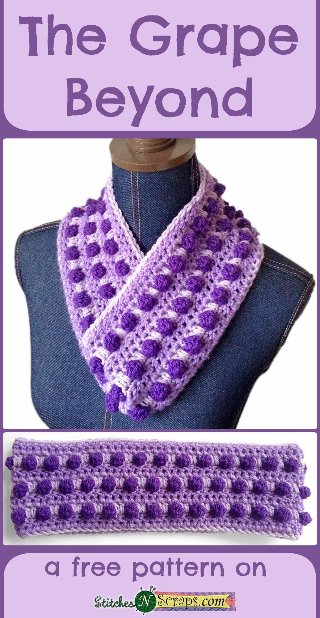 Free Pattern - The Grape Beyond