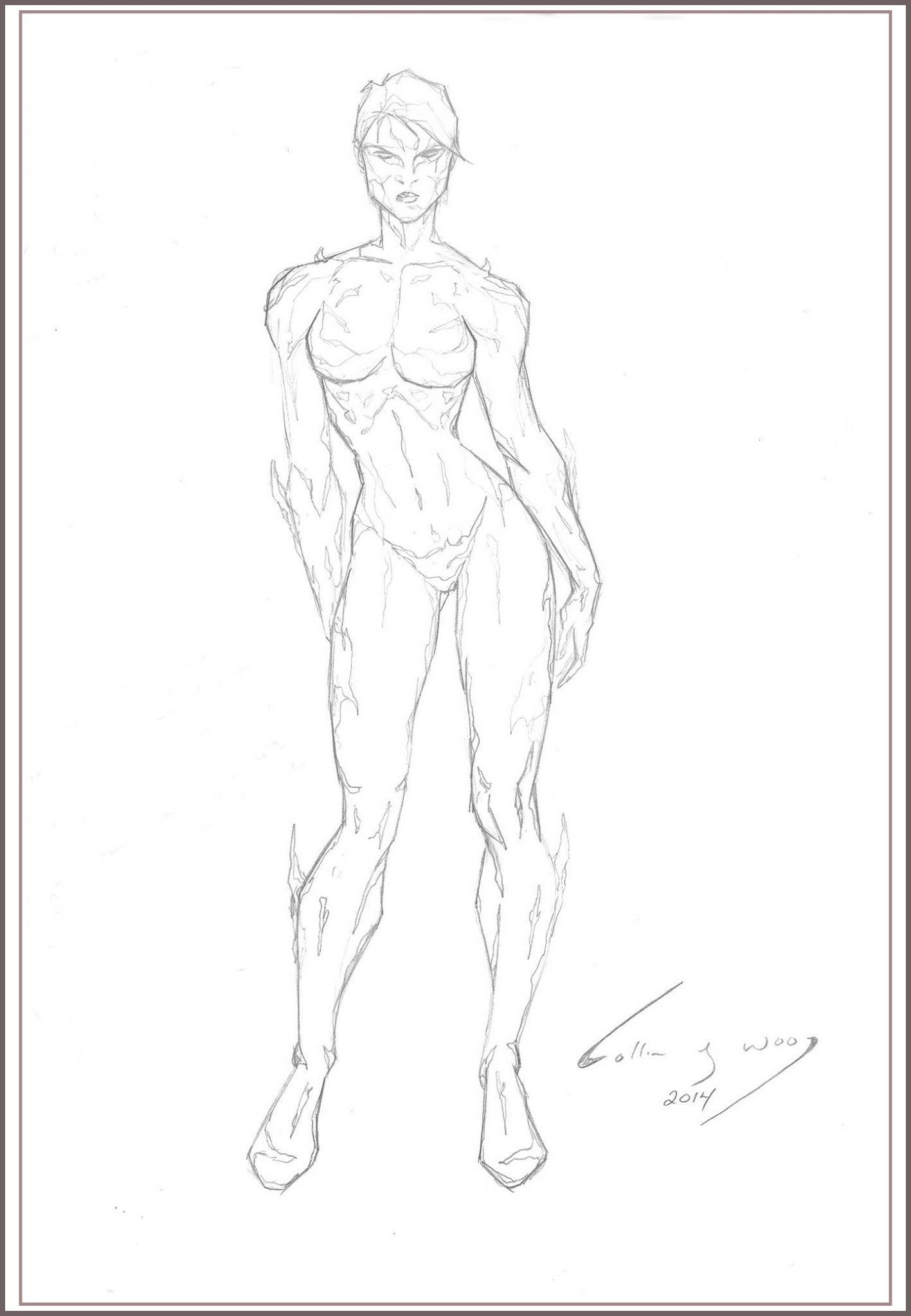 Female Body American Comic Style How To Draw Pinterest Female