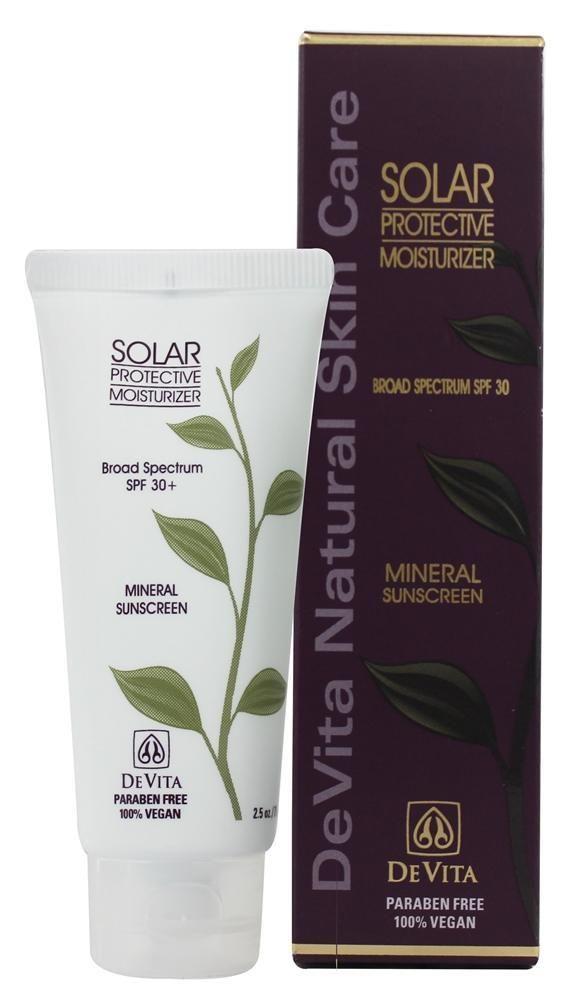Devita Natural Skin Care Solar Protective Moisturizer Natural Skin Care Natural Skin Skin Care