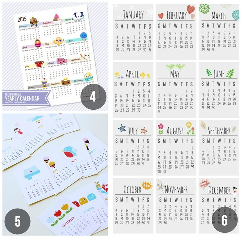 Daily Obsession Archive Rum - daily calendar printable