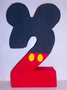 DIY a number2 like mickey mouse - Yahoo Image Search Results