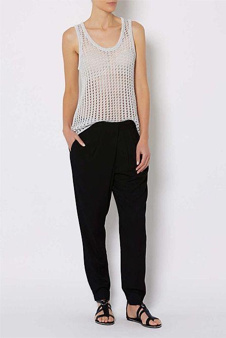 Shop Women s Clothing Australia - Witchery Online - Cross Drape Pant ... e074ad2f9