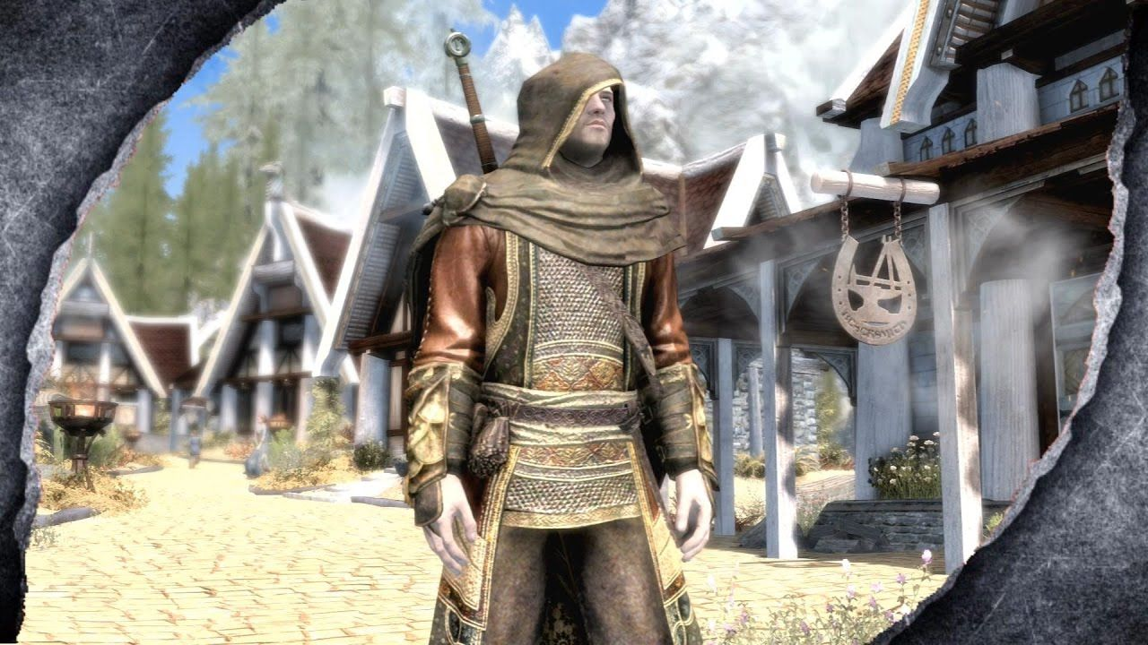 Skyrim Remastered Regal Assassin Armor Mod Showcase Killerkev Armor Skyrim Assassin