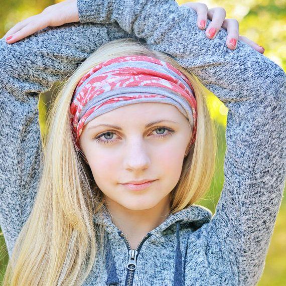 0c839cbca Coral Headband Alopecia Headband Extra Wide by SpecificallyRandom ...