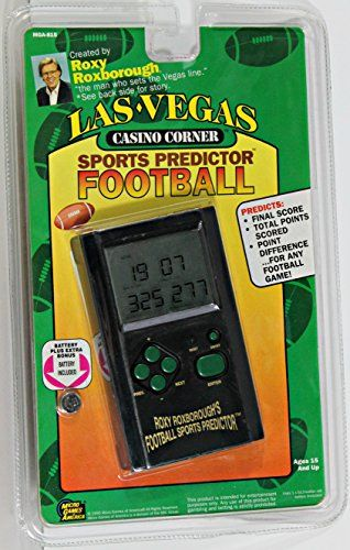 Roxy Roxboroughs Las Vegas Casino Corner Sports Predictor Football * More info could be found at the image url.Note:It is affiliate link to Amazon.