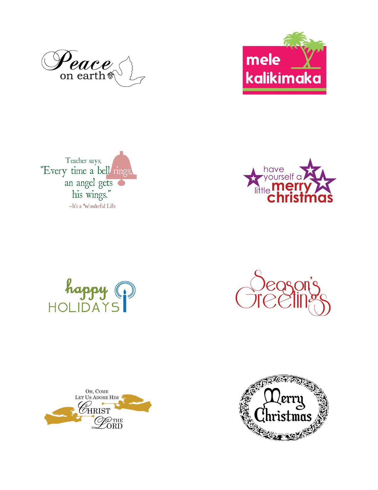 Sentiments Xmas Xmas Sentiments And Fonts Pinterest Xmas