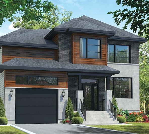 (terrain Inclus, Taxes En Sus) Maison à étage (cottage) Avec Garage 1784  Pi2  Possibilité Du0027ajouter Une Pièce Au Dessus Du ...