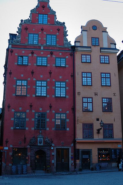 Next to Nobelmuseet, Stockholm, Sweden