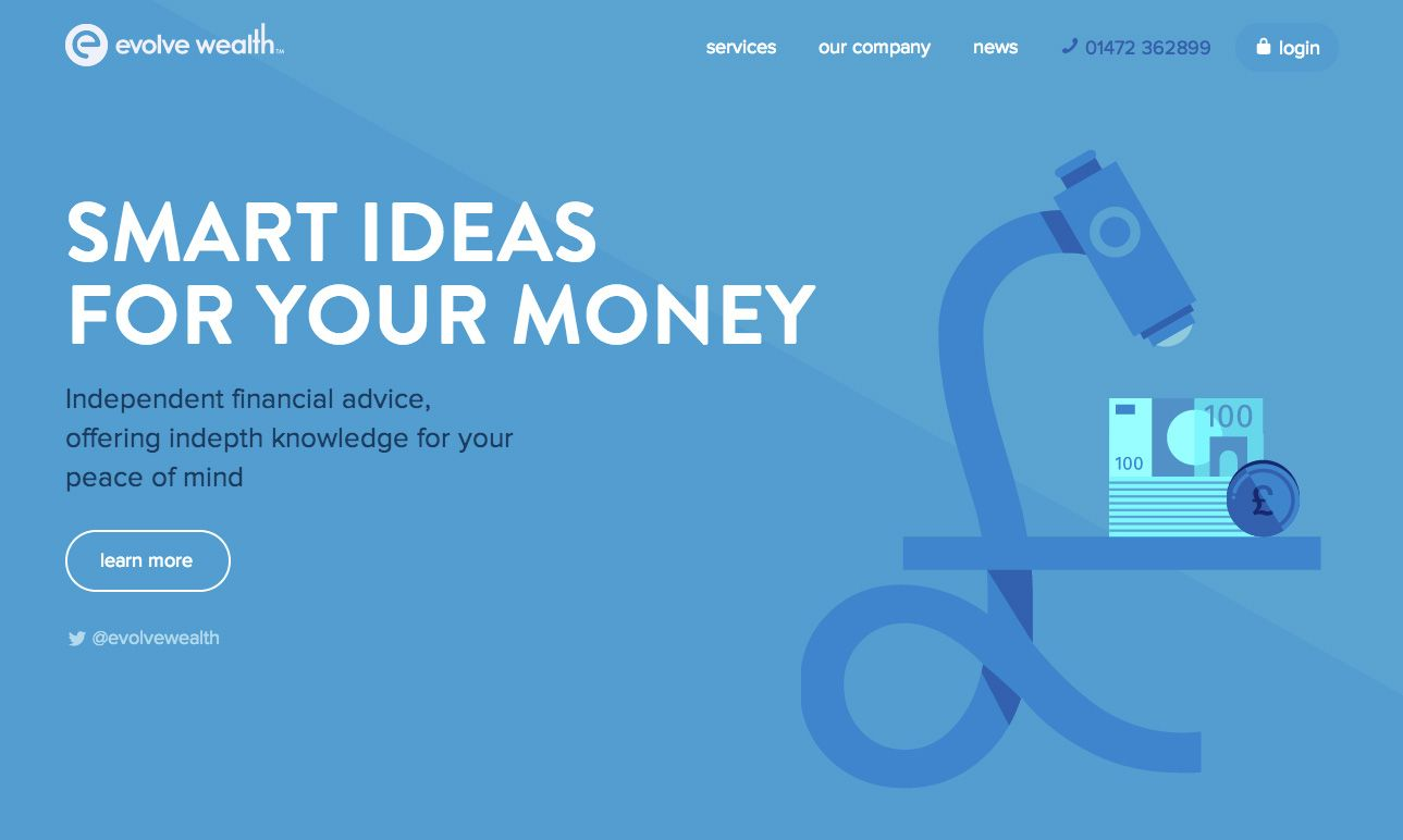 Evolve Wealth Web Design Inspiration Web Design Web Design Inspiration Design Inspiration