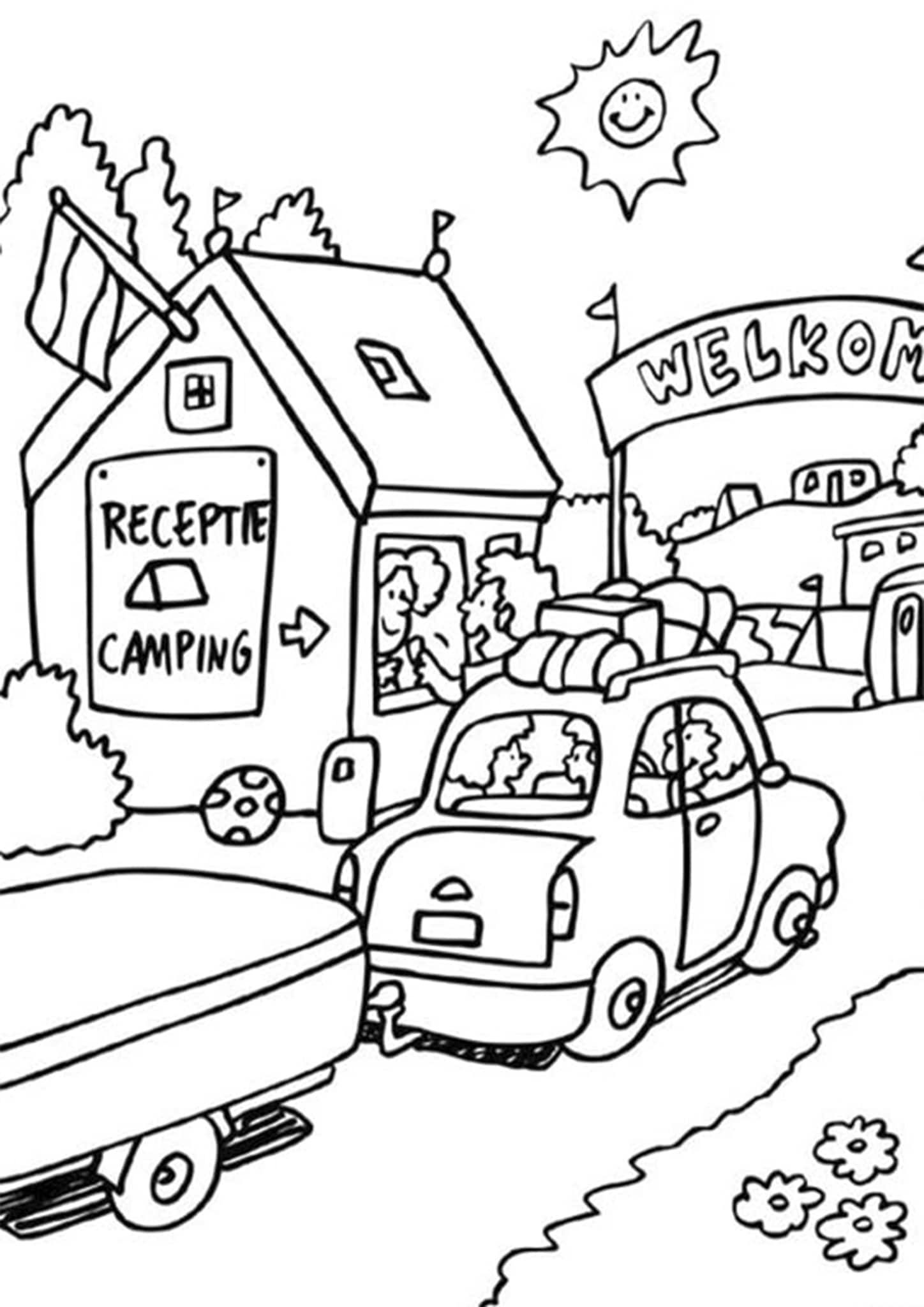 Free Easy To Print Summer Coloring Pages Summer Coloring Pages Coloring Pages Valentines Day Coloring Page
