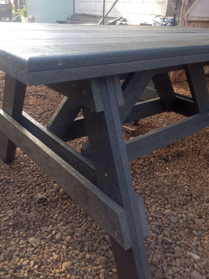 Mesa picnic sin bancas Timberecco