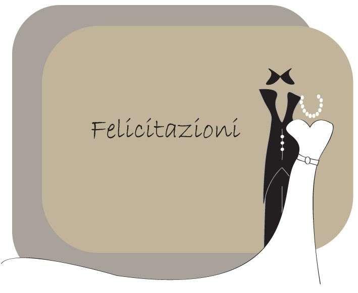 Auguri Sposi Biglietti Matrimonio Biglietto Per Matrimonio Raffinato E Moderno Matrimonio Spose Biglietto
