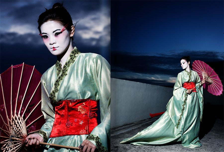 A Geisha's Journey  by ~Rizq3d  Photography / People & Portraits / Classic Portraits	©2011-2012 ~Rizq3d