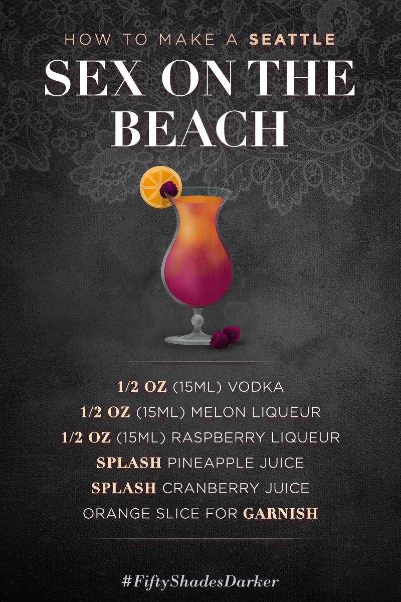 Having sex on the beach poster