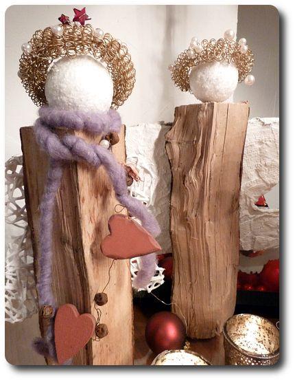 landlust engel basteln weihnachten engel basteln. Black Bedroom Furniture Sets. Home Design Ideas