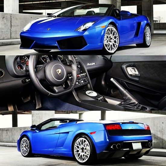 Check out this sweeeeet Lamborghini Gallardo