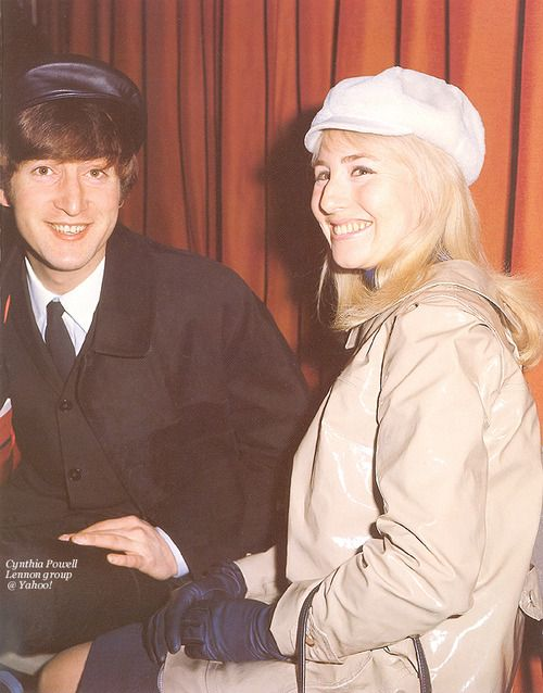 John Cynthia 1964 3 So Cute John Lennon First Wife John Lennon The Beatles
