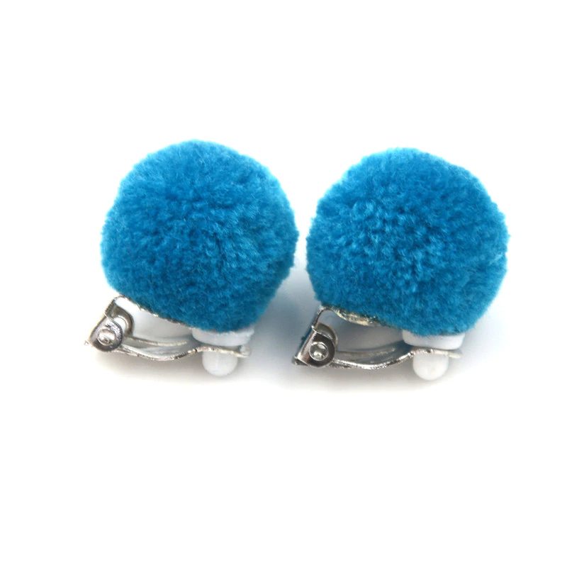 Fashion 1Pair Clip-On No Pierced Earrings For Kids Children Girls Birthday In ZN