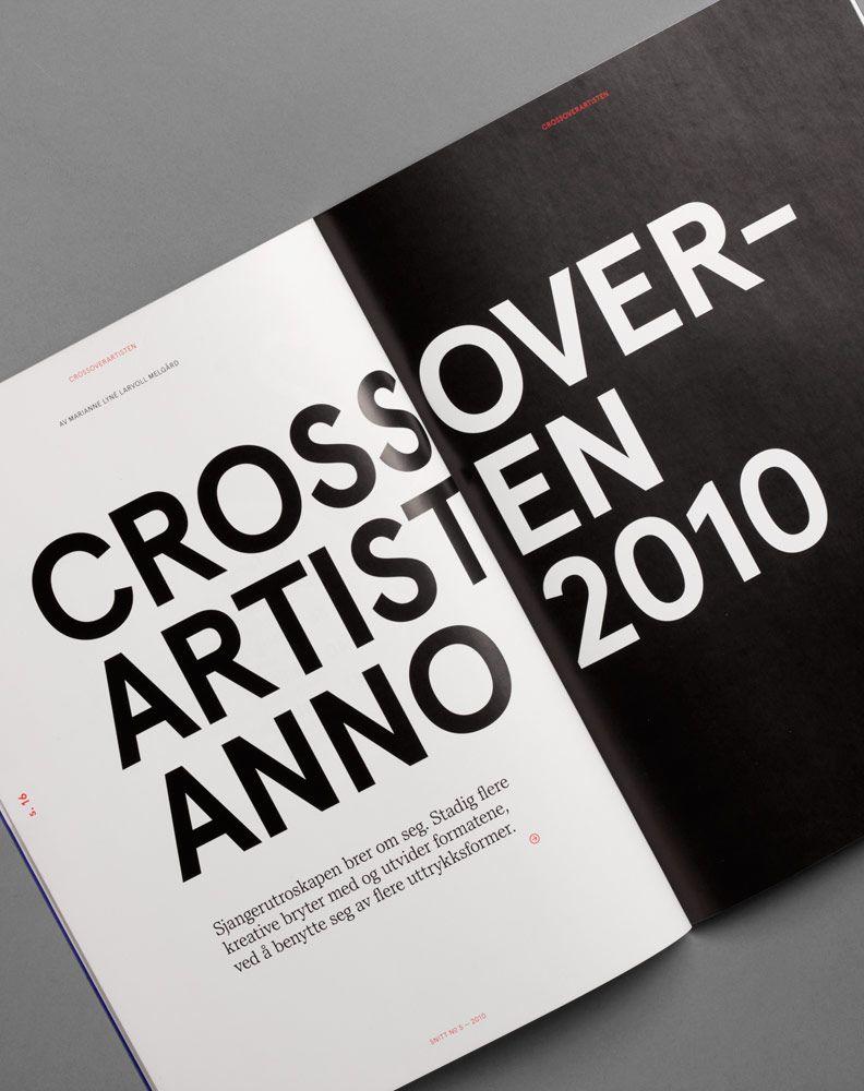 heydays | Crossoverartisten | #editorial #layout #typography