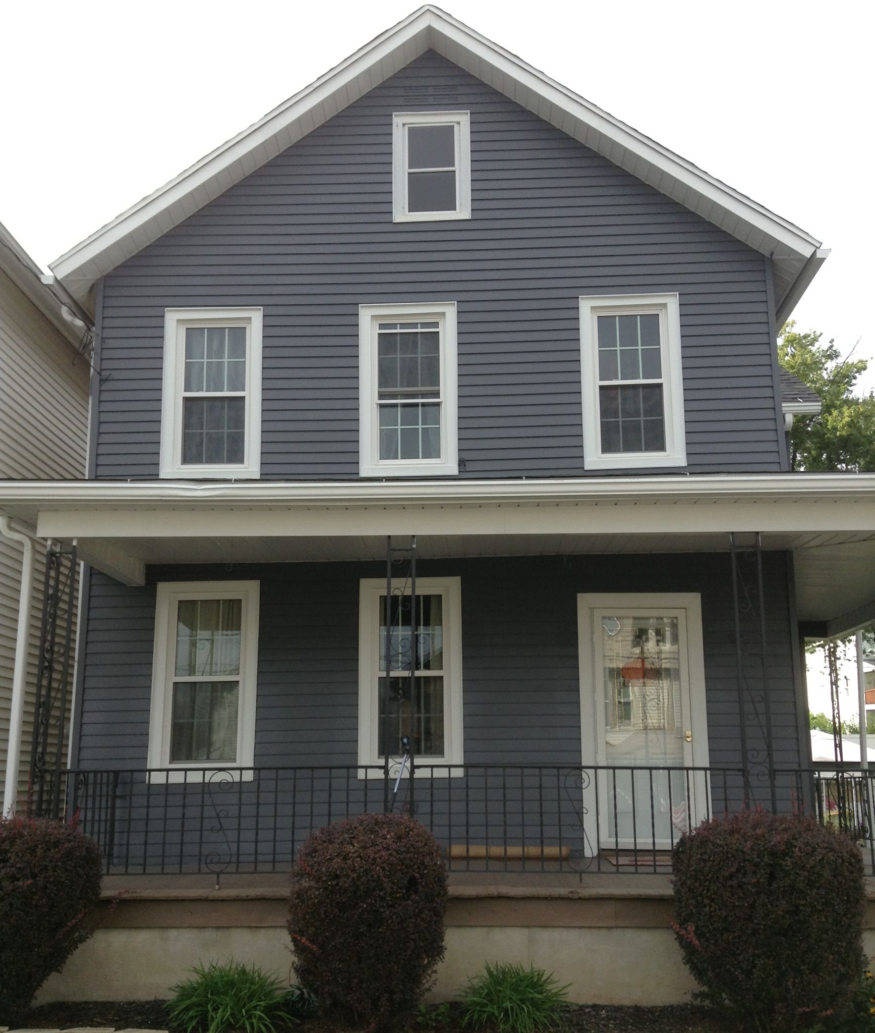 What Color Is Slate : Color ashland slate front yard pinterest and colors
