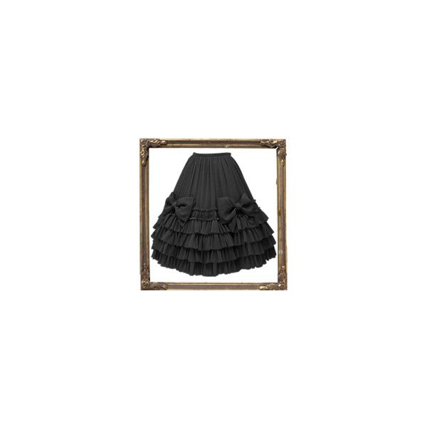 Petale de Rose et Ruban Skirt ❤ liked on Polyvore featuring skirts, lolita, rose skirt, rosette skirt, petal skirts, ruban and rose petal skirt