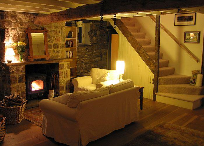 Cozy Cottage Living Room google image result for http://www.wyevalleyholidaycottages.co.uk