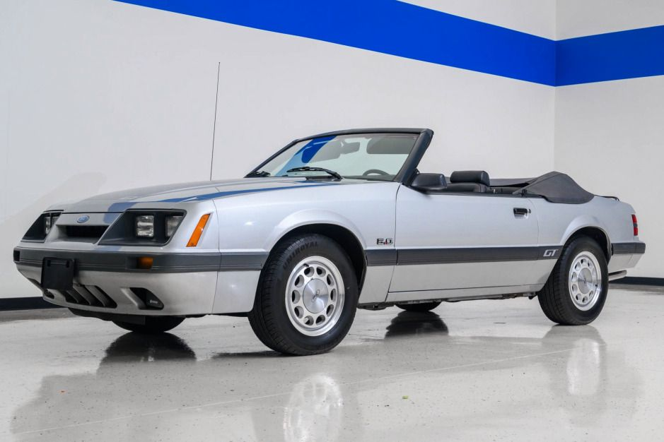 1986 Ford Mustang Gt Convertible 5 Speed Ford Mustang Ford Mustang Gt Mustang Gt