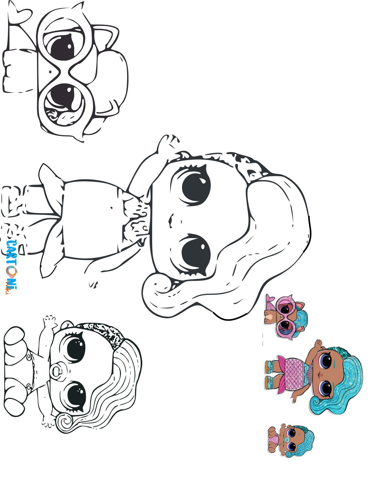 Disegni Da Colorare E Stampare Lol Drawings Lol