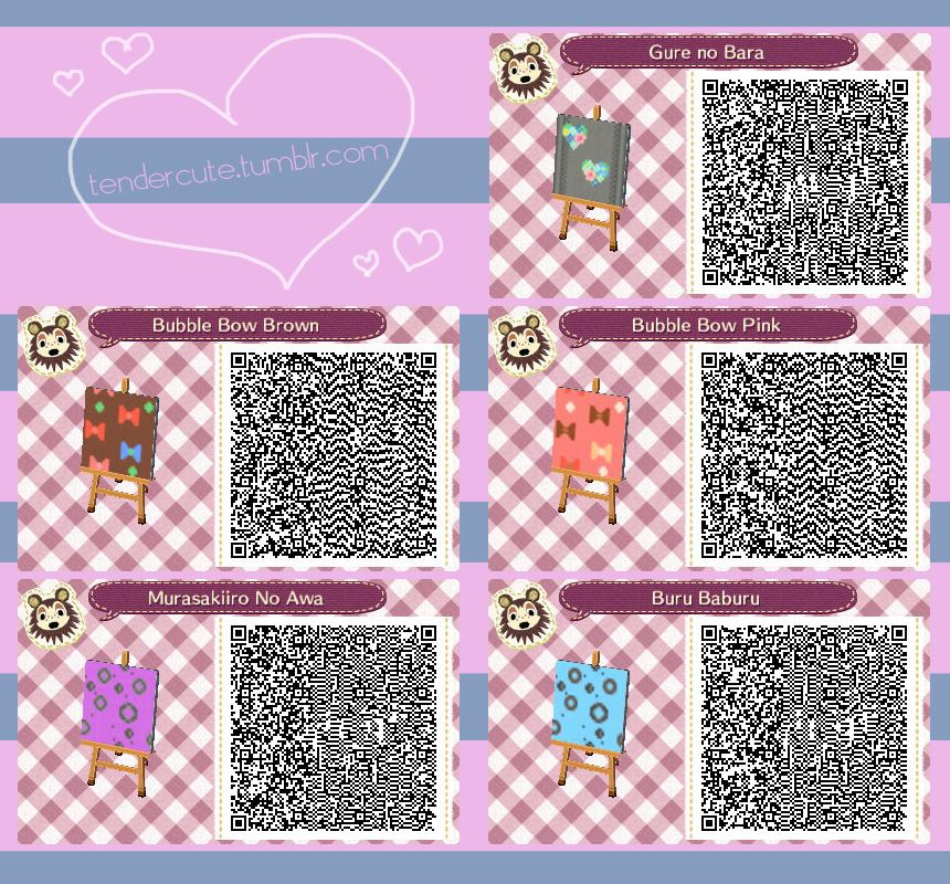 A Collection Of Cute Qr Codes Acnl Qr Codes Qr Codes Animals