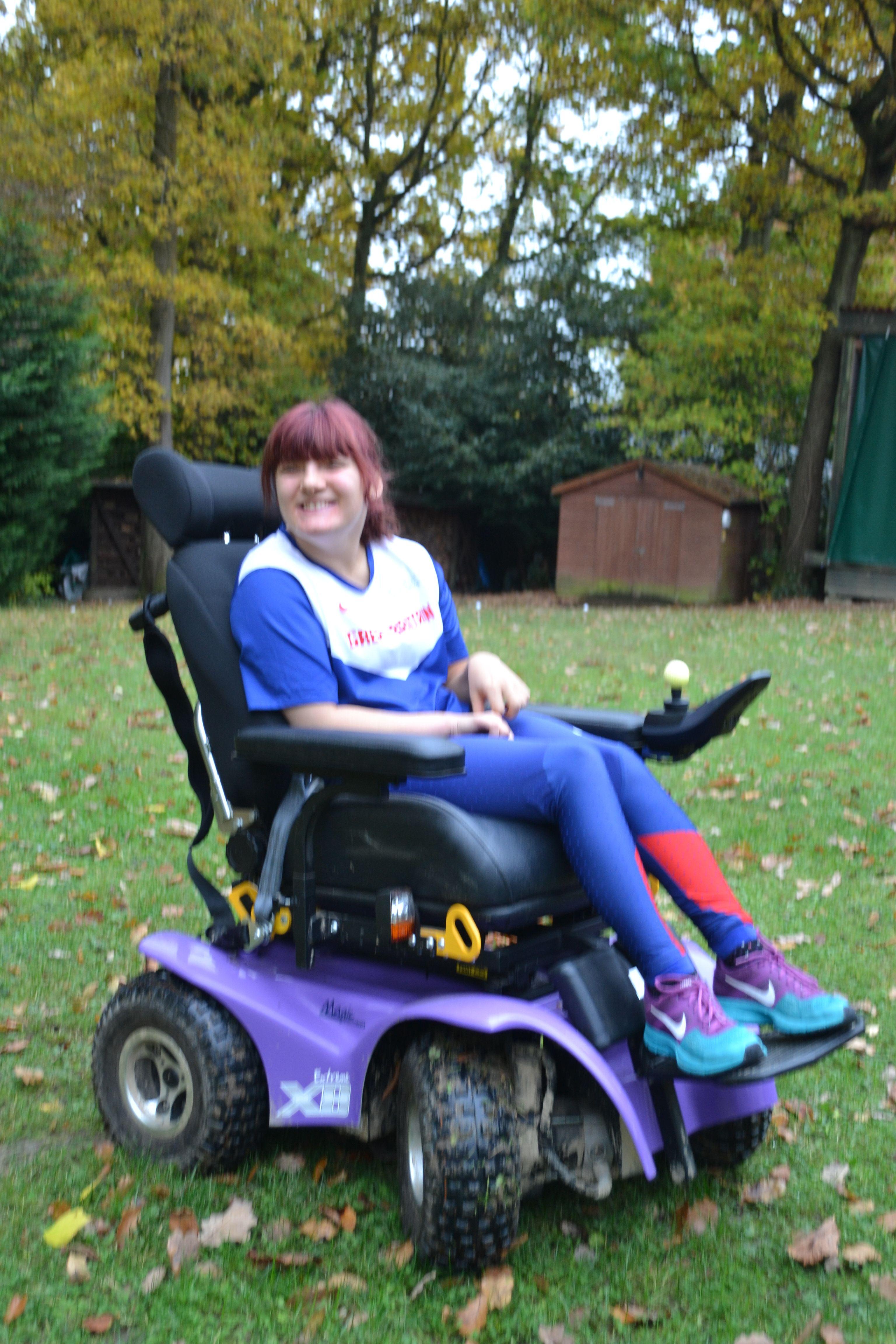 Extreme x8 powerchair team gb powered wheelchair
