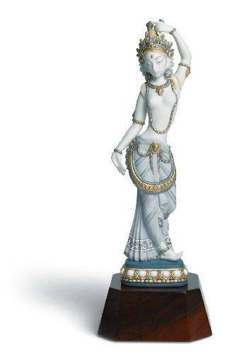 Lladro Hindu Dancer Porcelain Sculpture. #Lladro #Statue #Sculpture #Decor #Gift #gosstudio .★ We recommend Gift Shop: http://www.zazzle.com/vintagestylestudio ★