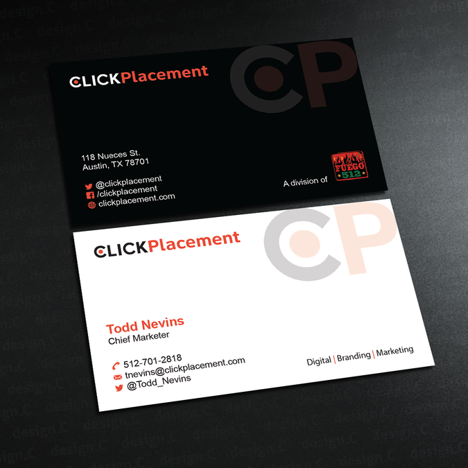 Digital marketing agency business card for founder land page digital marketing agency business card for founder colourmoves