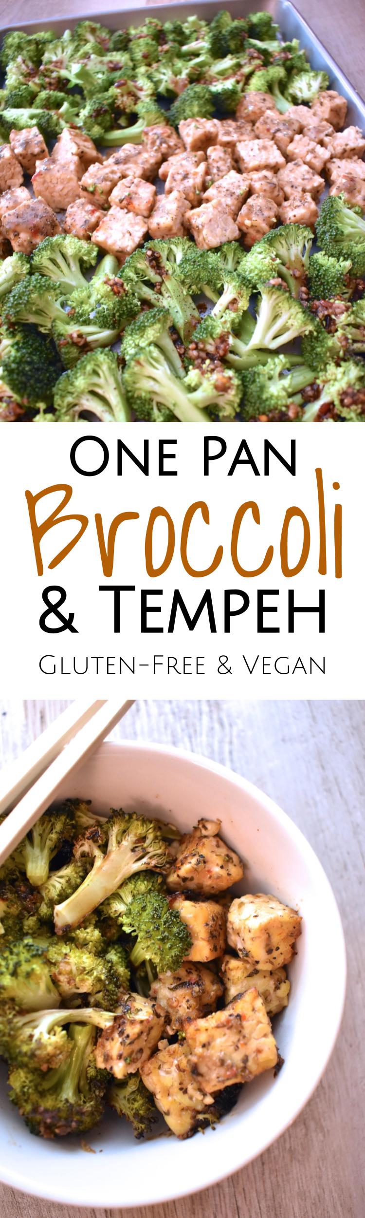 One Pan Broccoli & Tempeh Dinner • Educating Earthlings