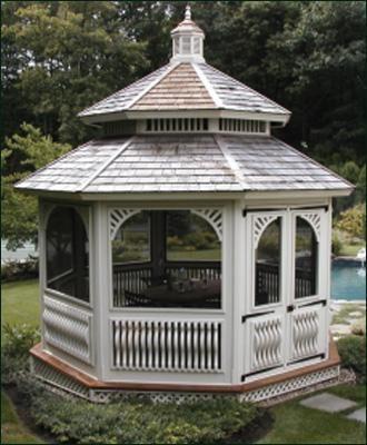 Queen Anne Garden House Victorian Gazebo Gazebo Plans Gazebo
