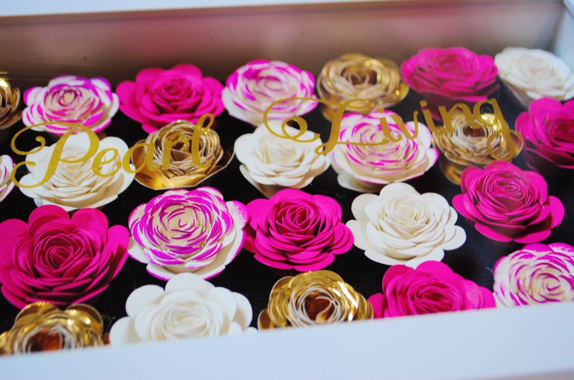 How to create a shadow boxrolled flowers diy personalized