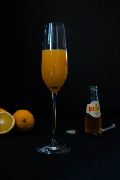 Weihnachtsmenü Aperitif: Crodino Orange