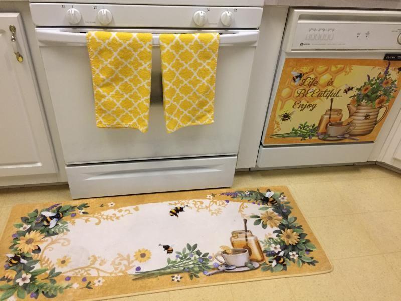 Honey Bee Kitchen Decor Collection In 2021 Kitchen Decor Collections Lemon Kitchen Decor Kitchen Decor