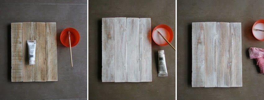 Diariodeco9: Diy Feliz navidad con madera de palet y lazo | DEF Deco - Decorar en familia