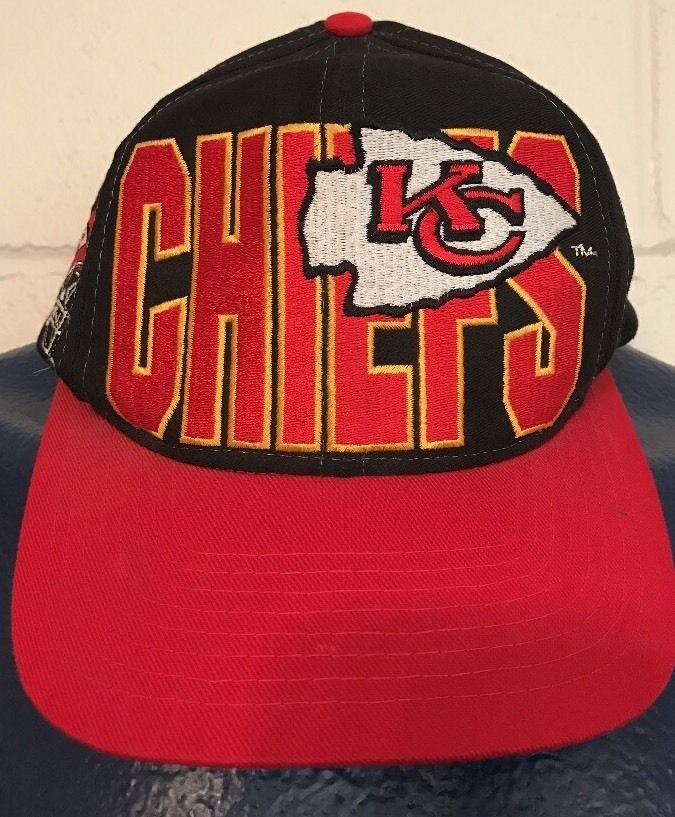 ed49ffc6 Kansas City Chiefs Paint Splash Snapback Hat Logo Athletic Red ...